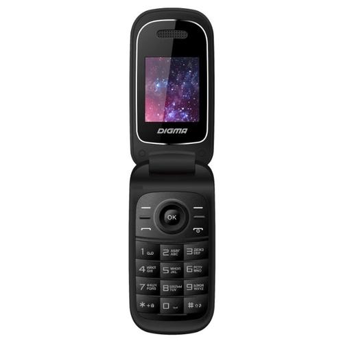 a784f077f36 тел.мобильный Digma A205 2G Linx черный моноблок 2Sim 1.77