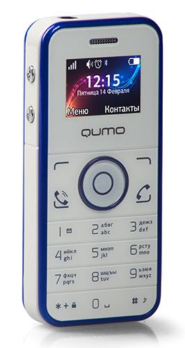 16b8e08af83 тел.мобильный QUMO Push mini белый с синим телефоны оптом. Купить смартфон  оптом в